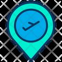 Location Flight Icon