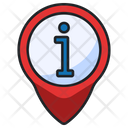 Location Information Location Info Information Pin Icon