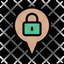 Location Map Private Icon