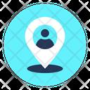 Location Location Man Man Pin Icon