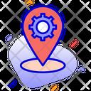 Location Management Gps Management Location Marker Icon