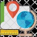 Location Map Location Navigation Icon