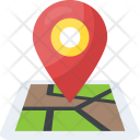 Location Map Geolocation Icon