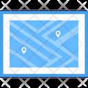 Location Map Web Location Gps Icon