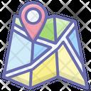 Location Map Icon