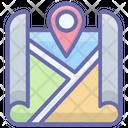 Location Map Location Pointer Gps Icon