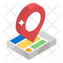 Map Navigation Location Map Pin Icon