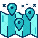 Travel Blue Location Icon
