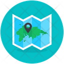 Location Map Navigation Location Icon