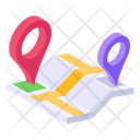 Route Map Roadmap Location Map Icon