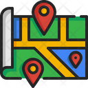 Location Map Pin Map Icon
