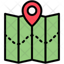 Direction Map Route Icon
