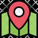 Location Map Beach Icon
