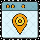 Gps Location Web Icon