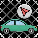 Location Marker Autonomous Car Icon