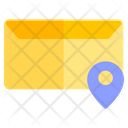 Mail Email Location Icon