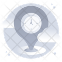 Gps Location Pointer Location Mileage Icon