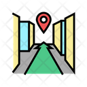 Navigation System Color Icon
