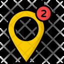 Location Notification Location Map Icon