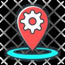 Location Optimization Place Optimization Marker Icon
