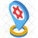 Location Optimization Location Pin Business Location Icon