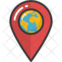 Location Pointer Global Icon