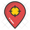 Navigation Pointer Crosshair Icon