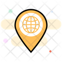 Global Location Gps Navigation Icon