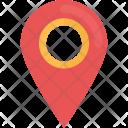 Map Pin Locator Icon