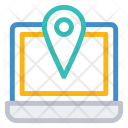 Pin Laptop Location Icon
