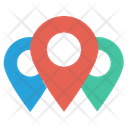 Locations Gps Pins Icon