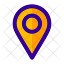 Pin Map Maps Dot Icon
