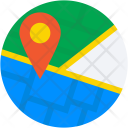 Location Pin Navigation Icon