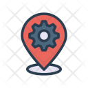 Location Map Setting Icon