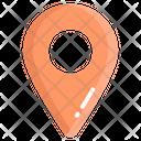 Location Pin Map Navigation Icon
