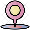 Location Pin Tag Internet Icon