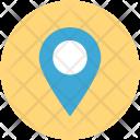 Location Navigation Locator Icon