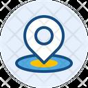 Location Pin Location Direction Icon