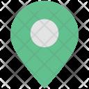 Map Pin Navigation Icon