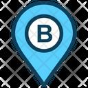 Pin Place B Icon