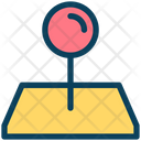 Pointer Pin Place Icon