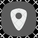 Geo Tag Pointer Icon