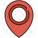 Location Indicator Pin Icon