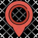 Location Indicator Pin Icon