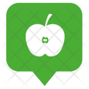 Location Apple Fruit Icon