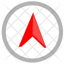 Location Way Compass Icon