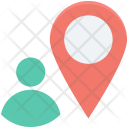 Location Pin Geolocalization Icon