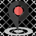 Location Pin Label Icon