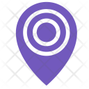 Location Pin Target Icon