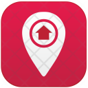 Point Home Location Icon